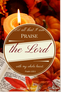 Let all that I am praise the LORD-1
