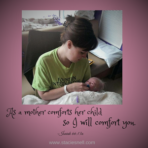 As a mother comforts her child (2)